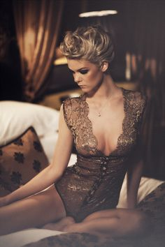 Sonata Diva Bodysuit  This totally luxurious range is all handmade from beautiful Solstiss lace and 100% pure silk. The decadent range is finished with genuine Swarovski crystals and is just guaranteed to make you feel sensational. All items are ethically made