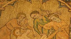 Photographie : Bénédicte Meffre - Hémiole.Parure d'aube : scènes de martyres. Angleterre vers 1340-1360