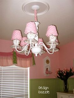 DIY instructions to make a teacup chandelier!