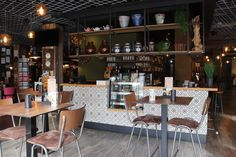 Mary\'s Coffee Club Interior Design for a Coffee Shop in Munich. All ...