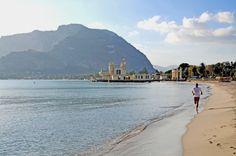 Mondello beach, Palermo, Sicily #mondello #sicilia #sicily