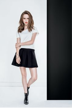 Blusa y falda a la venta en puntos Sears