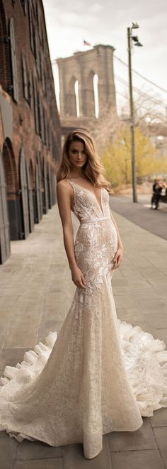 BERTA 2018 bridal collection. Style 18-14.
