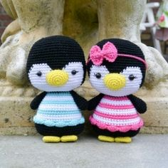 Penguins Pippa and Otto