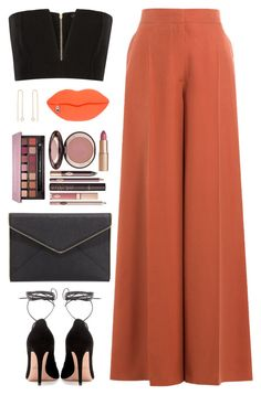 """Sin título #3970"" by mdmsb on Polyvore featuring moda, Valentino, Balmain, Rebecca Minkoff, Anastasia Beverly Hills, Charlotte Tilbury y STELLA McCARTNEY"