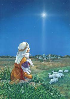 Star of Bethlehem Garden Flag Christmas Jesus, Christmas Nativity Scene, Christmas Scenes, Christmas Star, Christmas Pictures, Xmas, Beautiful Christmas Cards, Vintage Christmas Cards, Jesus Pictures