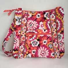 """SALEVERA BRADLEY PIXIE BLOOMS LARGE HIPSTER VERA BRADLEY PIXIE BLOOMS LARGE HIPSTER  RETAIL: $60  ~NEW WITH TAG~  This Listing is for a VERA BRADLEY HIPSTER CROSSBODY BAG WITH:  ADJUSTABLE STRAP  FRONT ZIP POCKET AND OPEN POCKET  BACK THERE'S A FULL ZIP POCKET  INSIDE THERE ARE 3 OPEN POCKETS   MEASUREMENTS: 11"""" X 11"""" X 1.75"""" STRAP DROP 52"""" Vera Bradley Bags Crossbody Bags"""