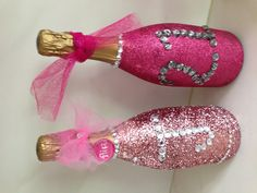 Made these champagne bottles for my daughters 21st bday, great gifts to gove
