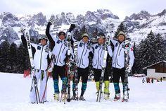 La nazionale di sci norvegese si allena nel comprensorio Paganella ski