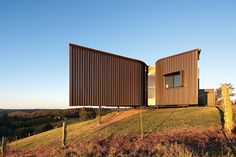 Bryden House. Longline cladding