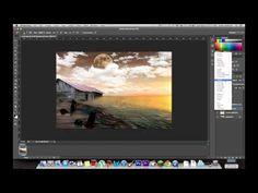 Photoshop CS6 Tutorial: Merging Multiple Photos *ADVANCED* - YouTube