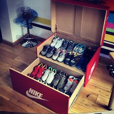 Nike shoe box for the sneaker heads!