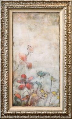 LUN TSE Etheral View $2,125.00 original, encaustic on wood panel 27.5″ x 47.5″, framed