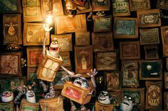 Heroes come in all shapes and sizes. Even rectangles. | Dearest Geeks of Earth #TheBoxtrolls #Laika #FocusFeatures