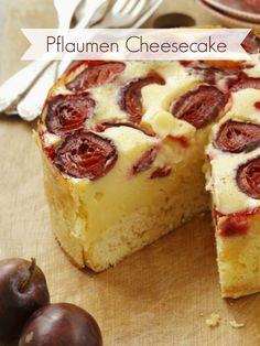 Rezept für leckeren Pflaumen-Cheesecake |Zeit: 45 Min. |http://eatsmarter.de/rezepte/pflaumen-kaesekuchen