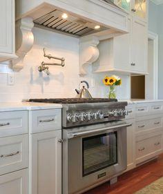 36 inch Pro Grand range in a kitchen