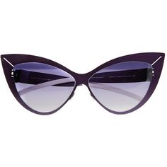 Mykita For Beth Ditto Sunglasses ($355) ❤ liked on Polyvore featuring accessories, eyewear, sunglasses, glasses, metallic sunglasses, mykita sunglasses, mykita glasses, mykita eyewear and metallic glasses