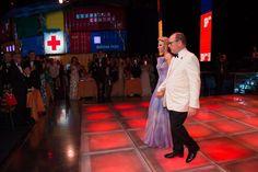 Gala de la Croix-Rouge 2016 - © Palais Princier / SBM - 10 - LL.AA.SS. le Prince et la Princesse de Monaco 68ème édition du Gala de la Croix-Rouge Monégasque Salle des Etoiles, Sporting Monte-Carlo. Samedi 23 Juillet 2016