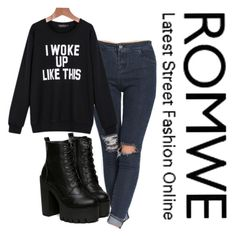 """""""I woke up like this"""" by senida-th ❤ liked on Polyvore"""