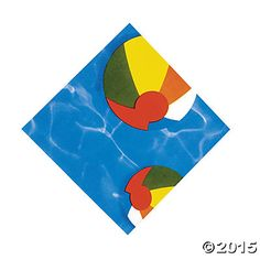 These Swimming Pool Party Napkins are a great addition to your party supplies! Make a splash at your pool party and keep plenty of these paper napkins stocked . Pool Party Favors, Pool Party Themes, Pool Party Kids, Beach Themes, Party Ideas, Open A Party, Beach Fun, Beach Ball, Baby Beach