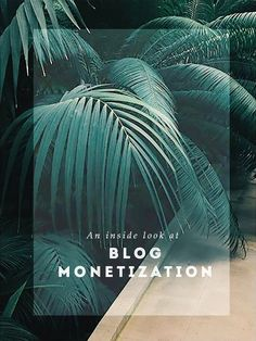 The Fascinating world of Blog Monetization | In Honor Of Design