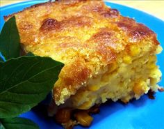 Sunday Dinner Southern Corn Pudding - This is simple, easy to make and yummy Southern Corn Pudding. It's a great dish anytime but the perfect side dish for any holiday. It's really easy but the end result tastes like you really fussed! Corn Pudding Recipes, Corn Recipes, Casserole Recipes, Great Recipes, Favorite Recipes, Corn Casserole, Cornbread Pudding, Cornbread Recipes, Sweets