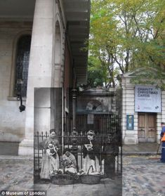 Covent Garden c.1877 and 2010 as seen on the Streetmuseum app