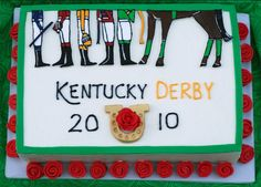 Night Baking: Kentucky Derby Cake