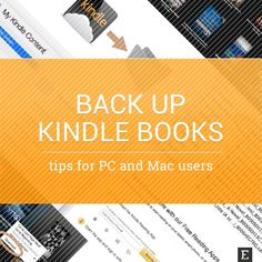 In this post you'll find two ways to back up Kindle books from the cloud to your computer. One requires a Kindle;…
