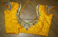 Customized Silk Saree Blouses | Saree Blouse Patterns