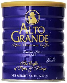 Alto Grande Super Premium Coffee Ground 8.8oz - 2 cans * New and awesome product awaits you, Read it now : at Coffee and Stuff.