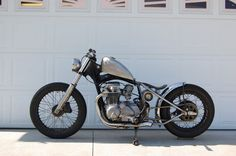 Da Shop Rag: MigBaron Build CB650 Bobber