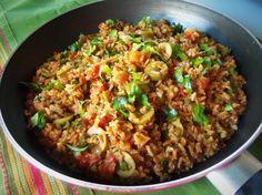 Mexican Brown Rice - Hispanic Kitchen