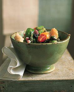 Asparagus Panzanella - Martha Stewart Recipes
