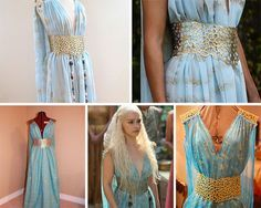 Lots of Daenerys Targaryen costumes and looks on this page, plus a how to make a dragon egg tutorial