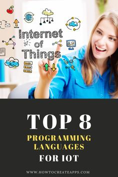 IoT simply means connecting all the things in the world to the internet and to each other to create a perfect interconnection between the physical and the digital world. This article's focus is on the top 8 programming languages for Internet of Things Technology Hacks, Cool Technology, Energy Technology, Top Programming Languages, Coding Languages, Arduino Circuit, How To Create Apps, Iot Projects, Libros
