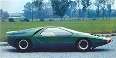 Alfa Romeo Carabo (Bertone), 1968