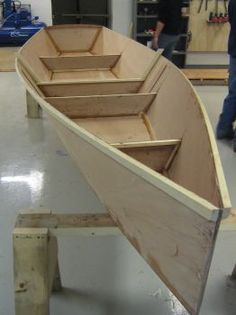 Step-By-Step Boat Plans - Rowing Skiff - Simple, Fast, Pretty Utility Rowboat - Michael Storer Boat Design - Master Boat Builder with 31 Years of Experience Finally Releases Archive Of 518 Illustrated, Step-By-Step Boat Plans Wooden Boats For Sale, Wooden Boat Kits, Wood Boat Plans, Wooden Boat Building, Boat Building Plans, Wood Boats, Canoe Plans, Deck Plans, Sailboat Plans