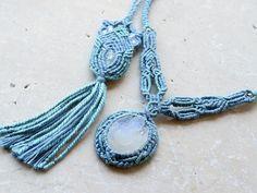 ガネーシャ 天然石ネックレス
