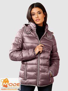 Jacken sind für jedes Outfit unentbehrlich wie zum Beispiel diese Steppjacke von Alba Moda Der Webpelzbesatz ist ... #BAUR #AlbaModa #Rabatt #25 #Marke #Alba #Moda #Material #Polyester #Onlineshop #BAUR #Damen #Bekleidung #Damenmode #Jacken #Mäntel #Sale #Winterjacken | sportliche Outfits, Sport Outfit | #mode #modeonlinemarkt #mode_online #girlsfashion #womensfashion Alba Moda, Sport Outfit, Mode Online, Mantel, Jackets For Women, Material, Fashion, Athletic Outfits, Fur