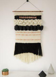 GRAN tejido de la pared parte superior del tapiz lana moderna