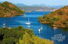 Sailing Around Gocek