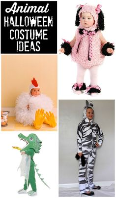 Adorable Animal Halloween Costume Ideas - Featured on Design Dazzle