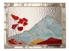 PDF Pattern for Stained Glass Mountain Poppies