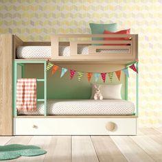 Litera para niños moderna y original con acabados de calidad pensada para durar muchos años. Diseño personalizable para que la puedas customizar a tu gusto. Más info en http://shop.minimoi.com
