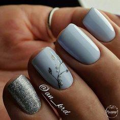 Installation of acrylic or gel nails - My Nails Hair And Nails, My Nails, Simple Gel Nails, Acrylic Nail Shapes, Fall Nail Designs, Nagel Gel, Fabulous Nails, Flower Nails, Creative Nails