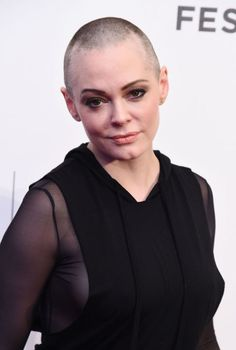 """Rose McGowan described shaving her head in 2015 as """"liberating."""""""