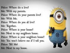 """Here's a great and New collection of Funny and Hilarious Minions for you.Just scroll down and keep reading these """"Top 25 New Minion Memes"""". And don't forget to share with your friends for make him laugh. Humor Minion, Funny Minion Memes, Minions Quotes, Funny Texts, Minion Sayings, Hilarious Jokes, Some Funny Jokes, Cartoon Memes, Funny Humor"""
