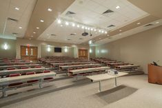 Thesi - Auditorium & Lecture Hall Seating - Benton High School, Louisiana - Fixed Seating for Universities, College and Interior Design