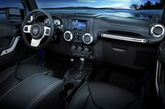 2015 Jeep Wrangler Unlimited Interior | Image vehicle